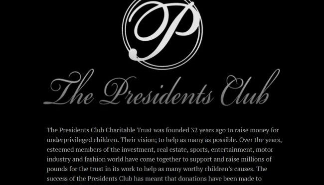 The Presidents Club scandal – A Massive Overreaction?