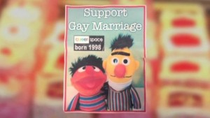 Cake with Bert and Ernie