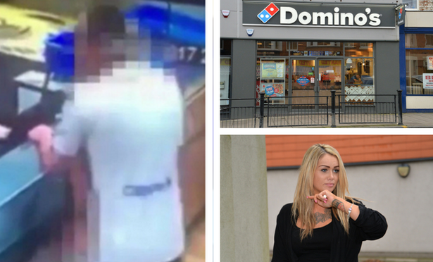 Couple in Domino's Sex Vid Spared Jail (Video)