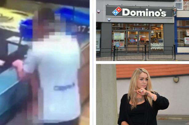 domino's sex couple