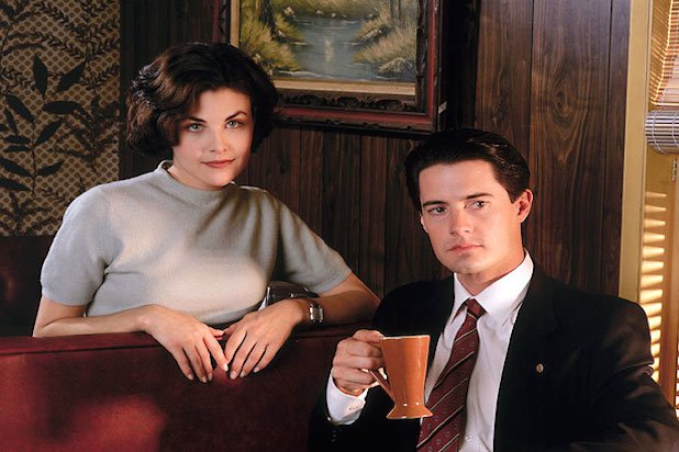 Twin Peaks photo of Dale Cooper and Audrey Horne