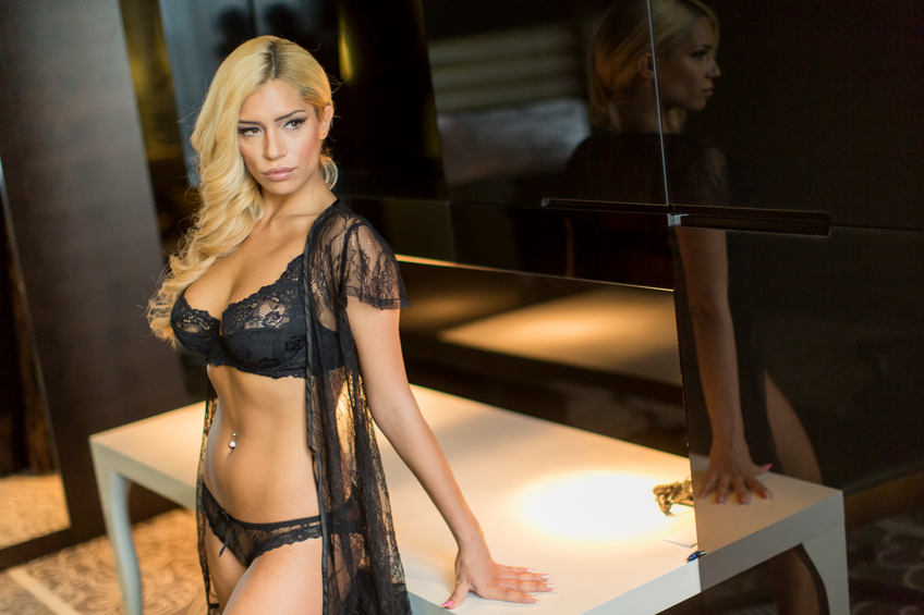 A sexy blonde woman is the perfect image of what we think the average pornstar looks like