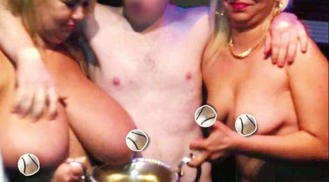 Kilkenny GAA Cup Winners Celebrate With Strippers!
