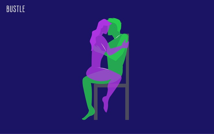 Chair sex position