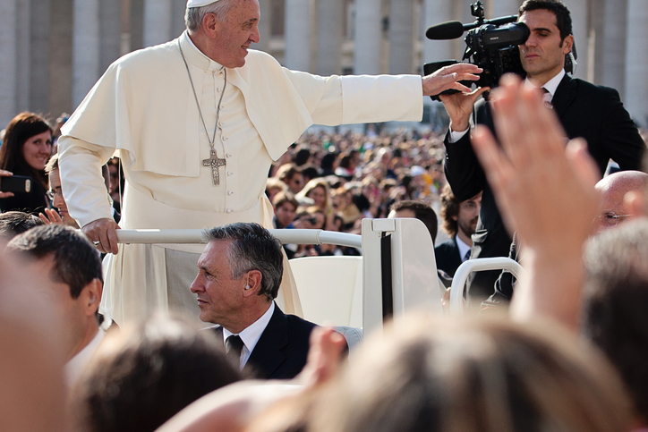 Pope Francis Blesses the Faithful