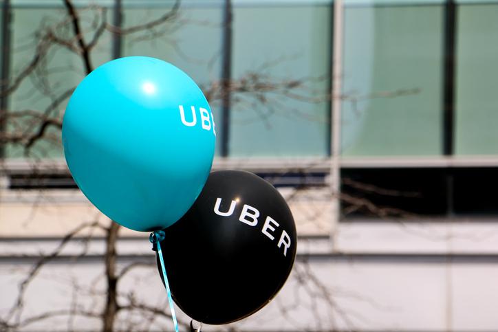 Uber balloons