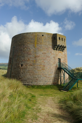 Martello Tower at Magilligan Point