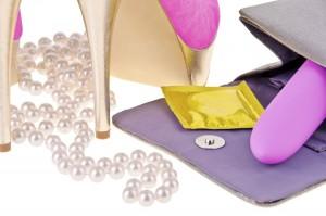 Sexy woman's handbag