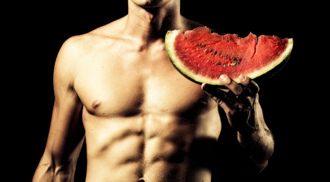 New Food Fetish: Man Likes Eating Fruit from Wife's Vagina