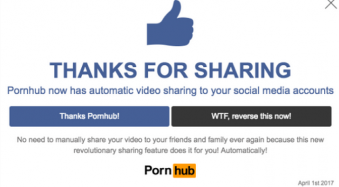 Pornhub in Amazing April Fool's Day Prank!